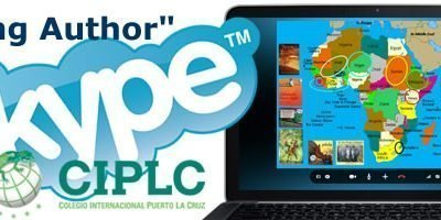 First-ever SKYPE Visiting Author presentations with Colegio International Puerto la Cruz in Venezuela