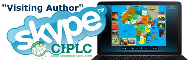 First-ever SKYPE Visiting Author presentations with Colegio International Puerto la Cruz in Venezuela
