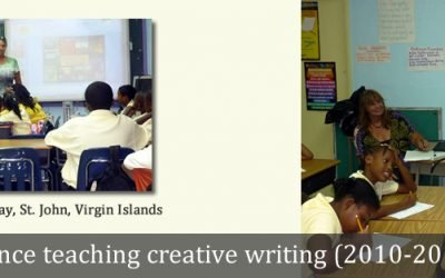 Author-in-Residence, St. John, Virgin Islands (2010-2011)
