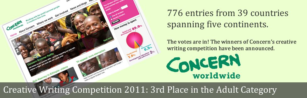 Creative Writing Competition 2011