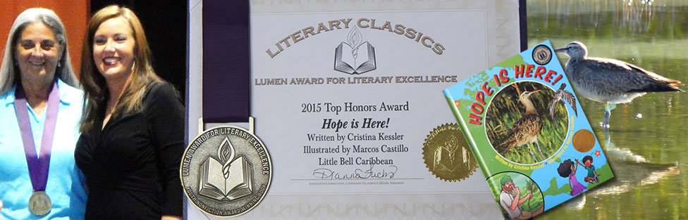 2015 Lumen Award Winner for Literary Excellence in Non-fiction for Young Readers